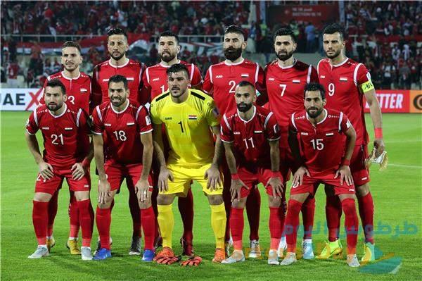 منتخب سوريا يستعد لمواجهة الأردن ودياً