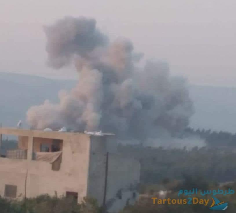 صواريخ روسية بعيدة المدى تستهدف النصرة قرب سجن إدلب المركزي (صور)