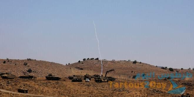 اسرائيلي تُغلق المجال الجوي فوق مرتفعات الجولان السوري المحتل