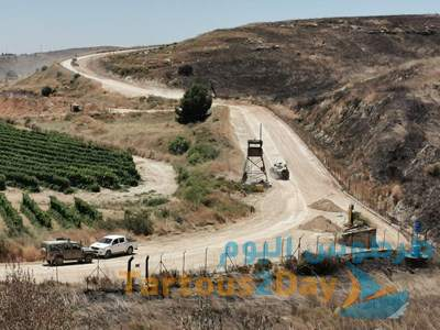 استهداف دورية للعدو الإسرائيلي بعبوة ناسفة أدت الى وقوع إصابات