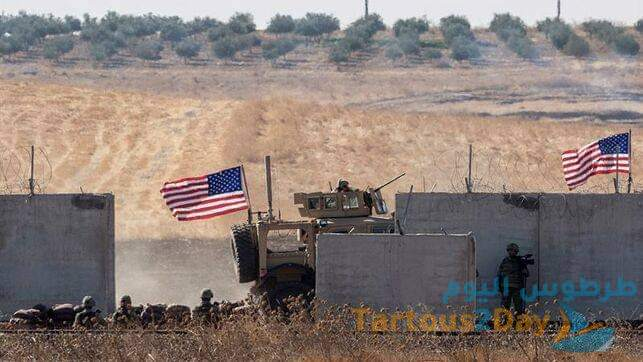 استهداف قاعدة أمريكية في دير الزور