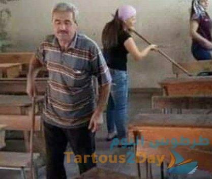 وفاة المدرس علي خضور مدير مدرسة شكارة البحري في القدموس متأثراً بفيروس كورونا