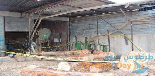 لاجئ سوري يفارق الحياة بعد سقوطه على آلة تقطيع أخشاب في تركيا
