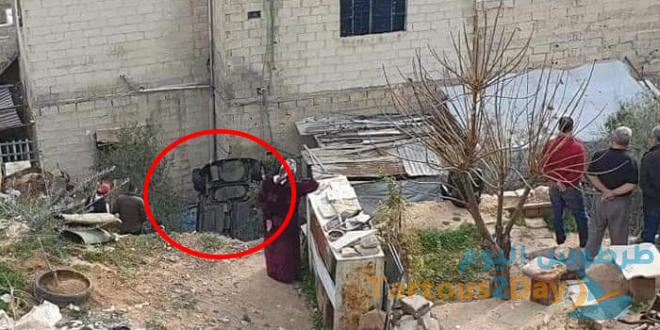 سقوط سيارة في وادي بمنطقة ركن الدين في دمشق (صور)