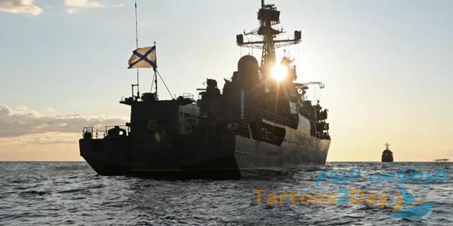 سفن أسطول بحر البلطيق تدخل ميناء طرطوس