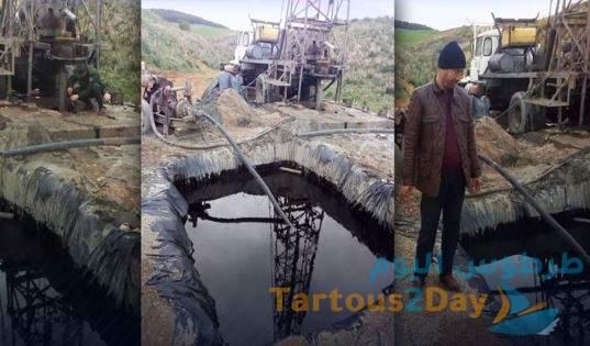 فلاح جزائري يعثر على البترول في أرضه بعد حفر بئر ارتوازي .