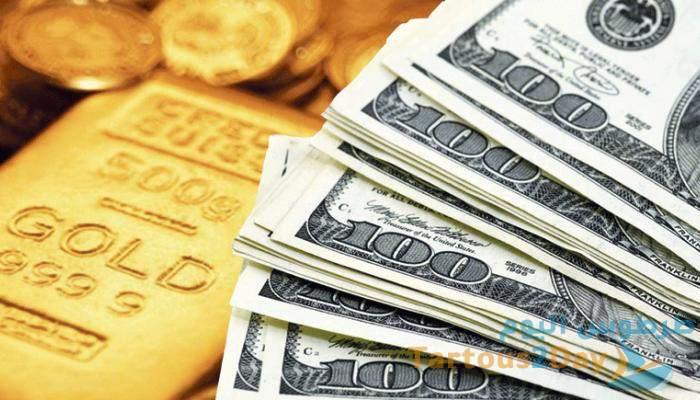 انخفاض سعر صرف الدولار و الذهب في سورية