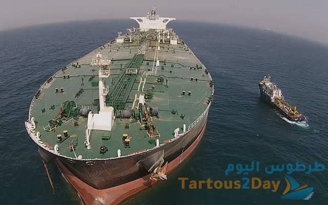 اسرائيل تستهدف سفينة تجارية إيرانية محملة بالنفط كانت في طريقها إلى سورية .