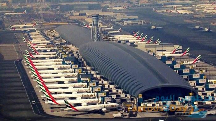 دبي : تراجع عدد المسافرين عبر المطار الدولي بنسبة 75% خلال أول شهرين من العام 2021 .