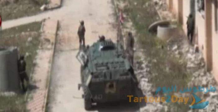 """تجسيد بطولات الجيش السوري في مسلسل """" اقمار في ليل حالك """" ... فيديو"""