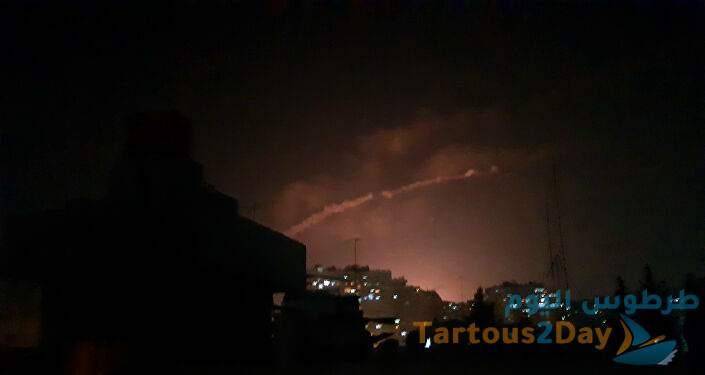 لحظة سقوط الصاروخ السوري بالقرب من مفاعل ديمونا