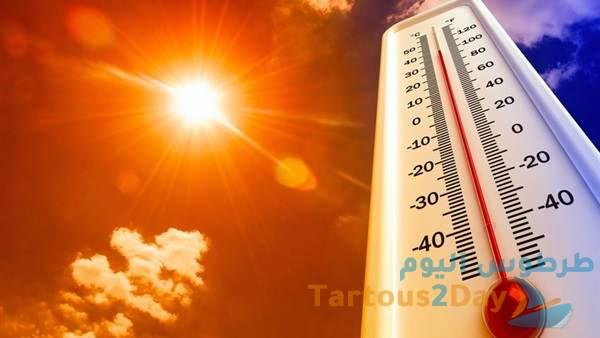 حالة الطقس في سوريا ... مرتفع جوي حار و الحرارة قد تلامس 40 درجة يبدأ غداً