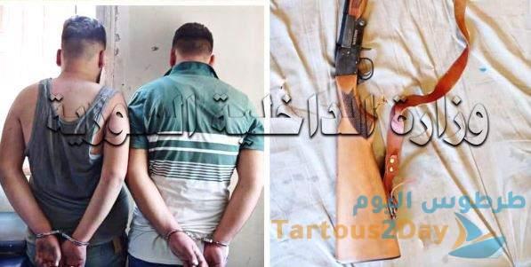 شابان يقدمان على قتل شخص في بانياس بسبب خلافات شخصية .