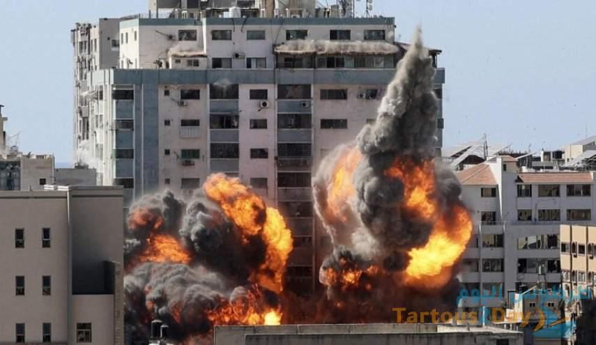 نوع القنابل المدمرة التي استخدمت لتدمير برج الجلاء في غزة