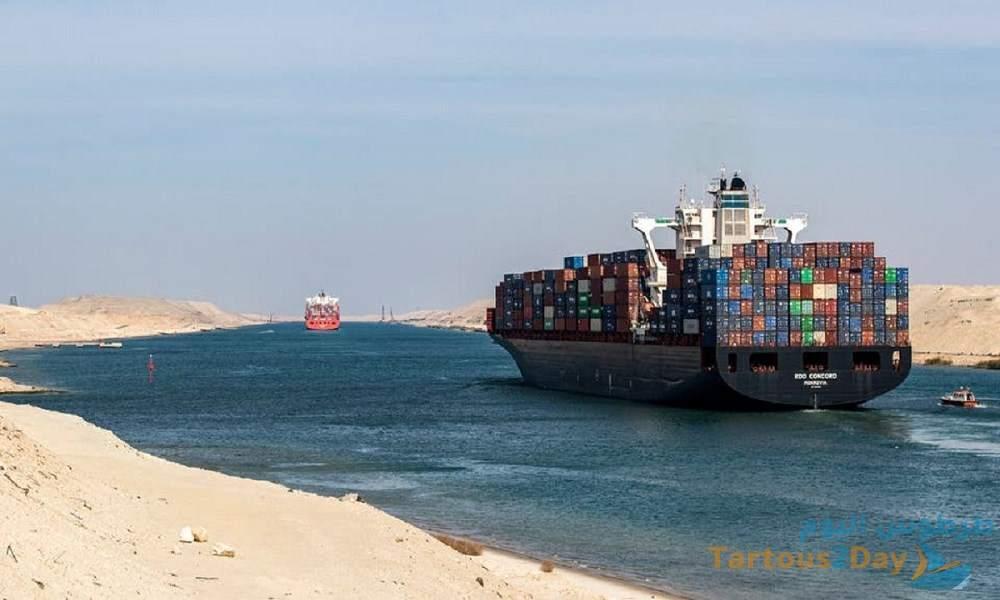 المسؤولين عن سفينة ايفرغيفن سيدفعون تعويض حادثة الجنوح .