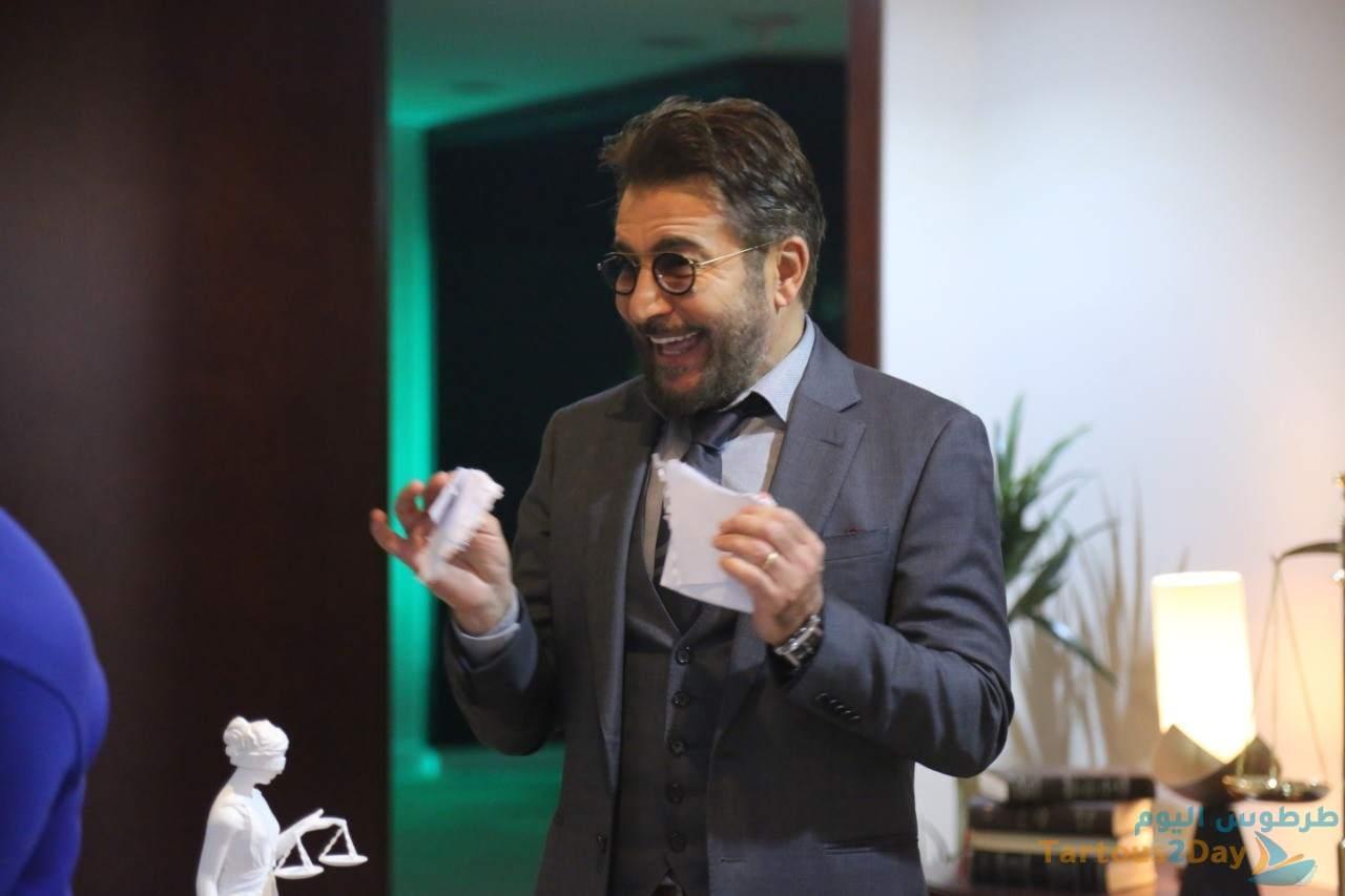 عابد فهد يرد على انتقادات مسلسل 350 جرام