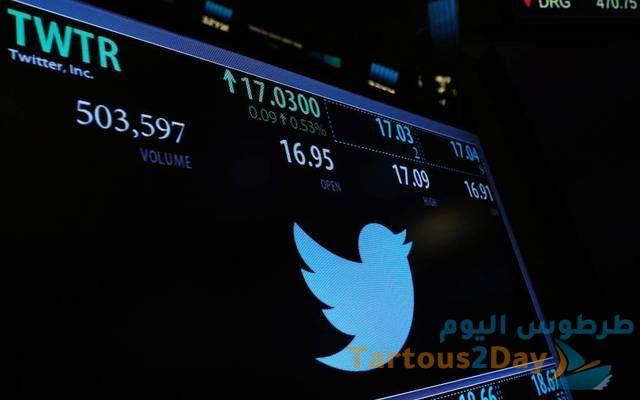 سعر سهم تويتر Twitter المدرج في بورصة نيويورك TWTR .