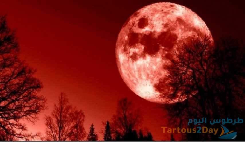 العالم يترقب ظاهرة فلكية .. القمر الدامي العملاق .