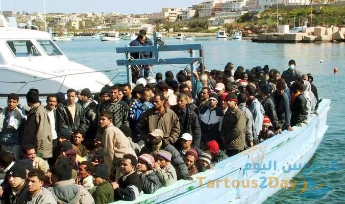 قبرص تعلن حالة الطوارئ بسبب المهاجرين السوريين من ميناء طرطوس
