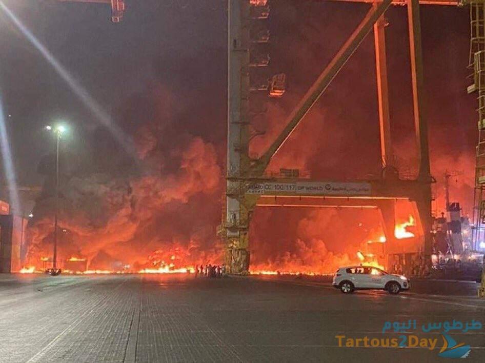 ميناء جبل علي دبي الامارات