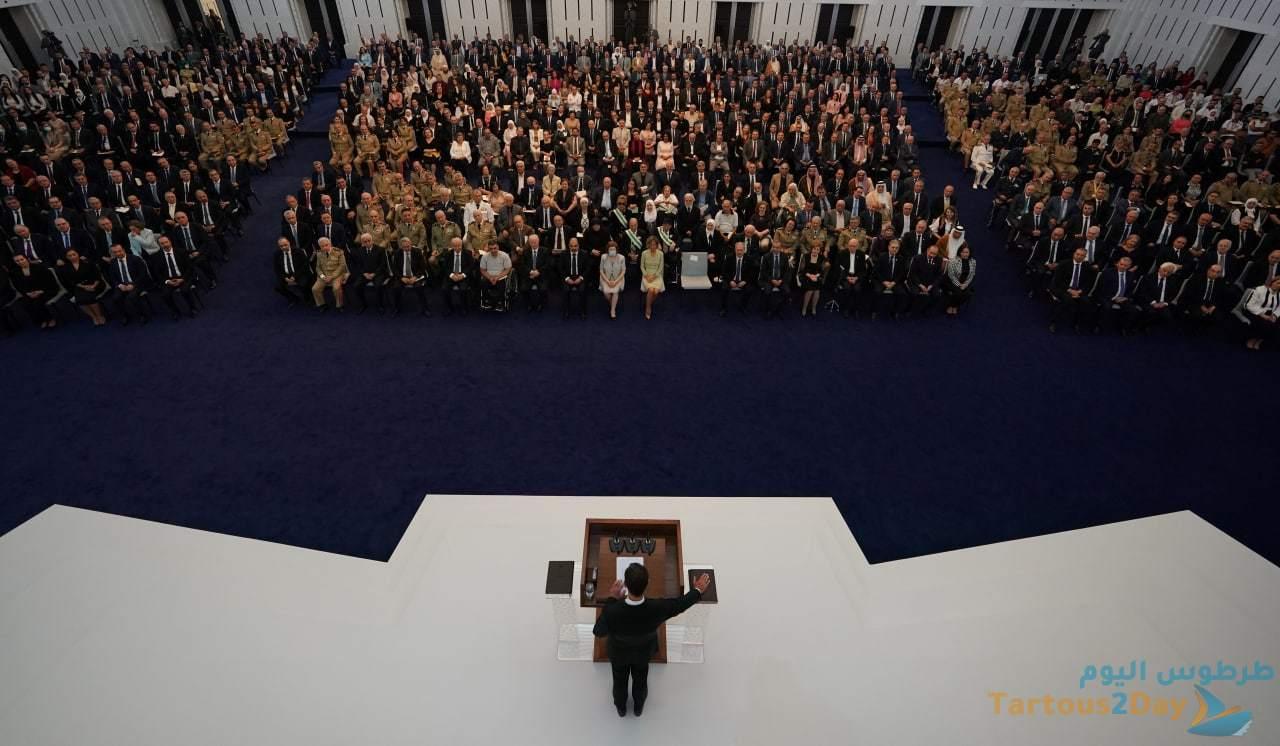 خطاب الرئيس بشار الأسد خلال القسم