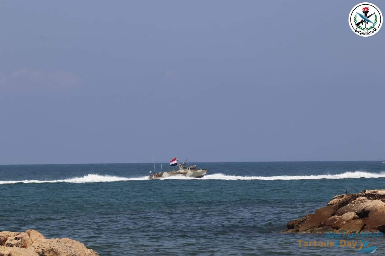 بحضور وزير الدفاع السوري احتفال القوات البحرية الروسية في طرطوس .. صور