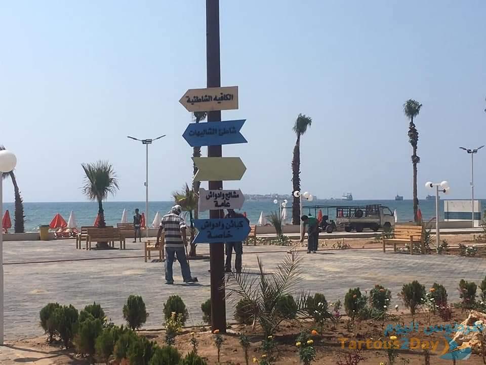 طرطوس .. غداً افتتاح أكبر مشروعين سياحيين في الساحل السوري(صور)