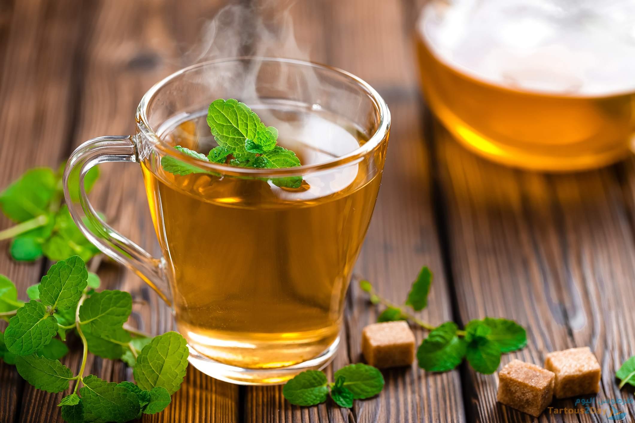 الشاي الاخضر للوقاية من السرطان والسكتة الدماغية