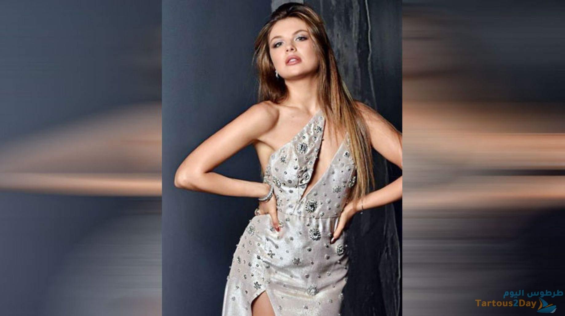 صورة ملكة جمال لبنان مايا رعيدي في بانيو الحمام تثير جدل واسع